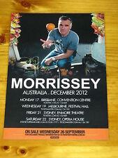 MORRISSEY - 2012  Australian Tour - Laminated Promotional Poster