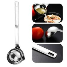 Stainless Steel Grease Separation Spoon Oil Soup Separator Grease Filter Cooking