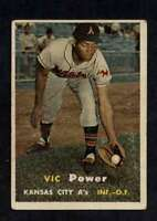 1957 Topps #167 Vic Power VG/VGEX Athletics UER A783