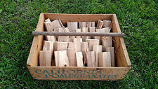 Organic Cherry Wood Chunks for smoking, bbq, grilling, tailgating NO BARK