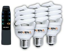 Govena Energy save Remote bulbs 20w B22 E27 dimmable mens gift present CFL XMAS