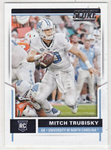 2017 Score Football Mitch Trubisky RC #349***UNC***