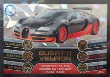 Top Gear Turbo Attax Trading Card. Limited Edition LE1 'Bugatti Veyron'