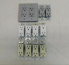 Lot of 12 Leviton Various Outlets