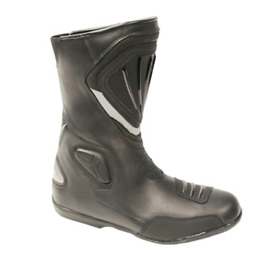 """MOTO DRY BOOTS """" SPEED """" BLACK ROAD TOURING"""