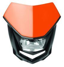 Mascherina Faro Anteriore Moto Polisport Headlight Halo Arancio Orange KTM EXC