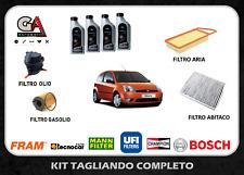 KIT TAGLIANDO FORD FIESTA V 1.4 TDCI 50KW 68CV DAL 2001 + 4 LT OLIO FORD 5W30
