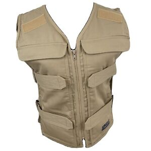 Steele Body Cooling System Heat Stress Vest Military Industrial Tan NWOT