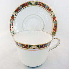 CLOISONNÉ A.1317 Royal Crown Derby Tea Cup & Saucer NEW NEVER USED made England