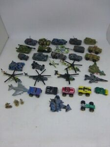 Huge Lot of Micro Machines LGT Galoob Tanks, Helicoptors Cars 80s-90s Soldiers