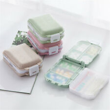 7 Compartment Pill Box Weekly Tablet Organizer Travel Medicine Storage Container