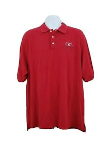 Boston Red Sox 2004 World Series Champions G Gear Polo Shirt Men's Sz XL MLB A19