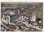 CPSM 37350 LE GRAND PRESSIGNY Vue aérienne ancien château donjon tour Vironne