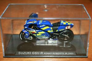 KENNY ROBERTS JR SUZUKI GSV-R 2002 1:24 IXO - Rare
