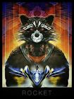 POSTER I GUARDIANI DELLA GALASSIA GUARDIANS OF THE GALAXY GROOT ROCKET RACOON 4