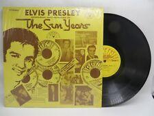 Elvis Presley ♫ The Sun Years ♫ Sun 1001 LP Vinyl Record Original Shrink NM