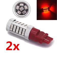 3157 LED Red Brake Flash Strobe Tail Stop Blinker Rear Alert Safety Light Bulbs