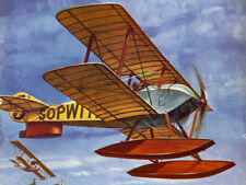 Model Airplane Plans (Ff): Sopwith Tabloid 1/12 Scale for .5cc by K. McDonough