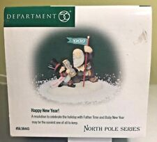 Dept 56 Happy New Year! North Pole New in Orig Box #56443 Heritage Village