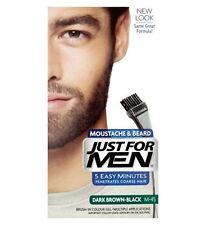 Just For Men Brush In Colour Moustache Beard DARK BROWN BLACK Face Dye Facial