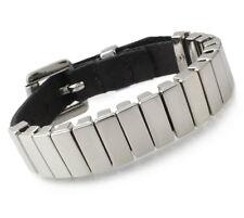 A70 Lederarmband Biker Rocker Chopper Punk Armband Herren Damen Leather Bracelet