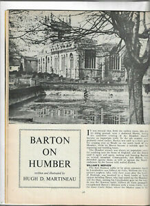 Barton on Humber illustrated local history etc Lincolnshire Life July 1972