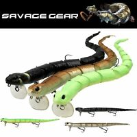 SAVAGE GEAR TOPWATER LIFELIKE FLOATING SWIMBAIT LURE 3D SNAKE 300mm/57g