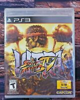 Ultra Street Fighter IV - PS3 - Sony Playstation 3 - Brand NEW - Sealed