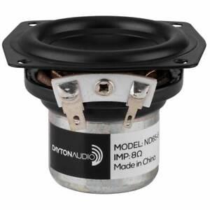 """Dayton Audio ND65-8 2-1/2"""" Aluminum Cone Full-Range Driver 8 Ohm"""