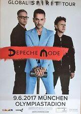 Depeche Mode 2017 Munich-orig. Concert Poster -- CONCERT AFFICHE a1 NEUF