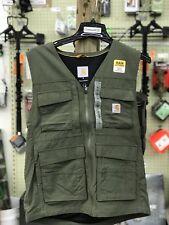 Carhartt 101978 Mesh Lined Multi Pocket Sport Vest 2XL TALL