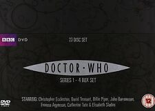 DOCTOR WHO 1-4 THE COMPLETE SEASON / SERIES 1 2 3 4 DVD ENGLISCH