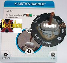 KUURTH'S HAMMER S101 Fear Itself Month 1 Marvel Heroclix OP LE special object