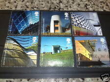QE2 2006 FU SG 2634/39 MODERN ARCHITECTURE  STAMPS SET