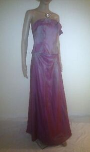 MONSOON Maxi Evening Dress. Wedding, Prom, Mother Of Bride, Ball.  SIZE 14 - 16