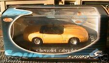 CHEVROLET CORVETTE CABRIOLET SOLIDO N° 1514 YELLOW 1/43