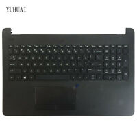 New FOR HP 15-BS 250 G6 255 G6 256 G6 Laptop Keyboard US Black Palmrest COVER