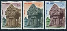 Cambodia 119-121,lightly hinged.Michel 149-150. Preah Vihear ancient temple,1963