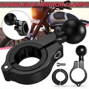 Motorcycle Handlebar Rail Mount Base Ball Mounts Aluminum Alloy Hot V4C2