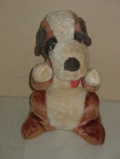 VINTAGE BOARDWALK FAIR CARNIVAL PRIZE HOUND? ST. BERNARD? DOG STUFFED PLUSH TOY