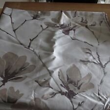 MASSIVE REMNANT Floral Faux Silk Furnishing Fabric - Approx 140cm x 2.7M