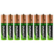 8x Duracell AA HR06 2450mAh Capacity Duralock NiMH AA Rechargeable Batteries
