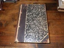 1904.Cours philosophie (Saint-Flour.manuscrit.Saint-Louis USA).Félix Lagarrigue
