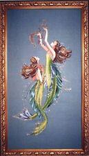 Mirabilia Cross Stitch Chart. MD85 Mermaids Of The Deep Blue  Cheap Shipping.
