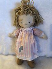 """Original Betsey Clark Vintage Knickerbocker Rag Doll 1977 14"""" Rare"""