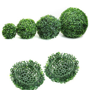 Artificial Plant Ball Fake Topiary Tree Boxwood Home Outdoor Wedding Party Decor