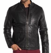 John Varvatos Star USA Leather Jacket - Color:Black Size:M -NWT