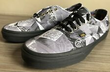VANS AUTHENTIC ABSTRACT SKATE SHOES  SIZE MEN'S 12