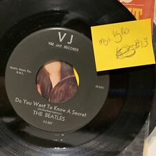 The Beatles Do You Want To Know A Secret Vee Jay 587 VG(+) SPVG+