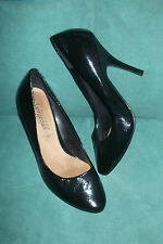 New Look Women's Patent Leather Court Stiletto Shoes